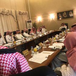 الأمير منصور بن محمد يتفقد منفذ الرقعي