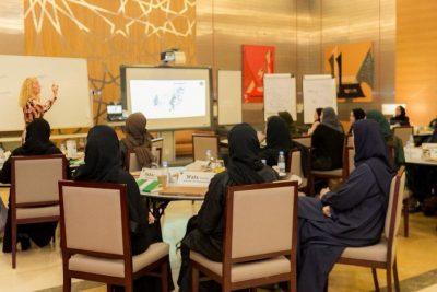 """""""العمل"""" تعلن عن تخريج الدفعة الثانية من النساء الملتحقات في مبادرة التدريب والتوجيه القيادي للكوادر النسائية"""