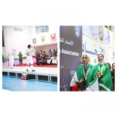 """السعوديةتحصد أول ذهبية """"نسائية"""" في الكويت"""