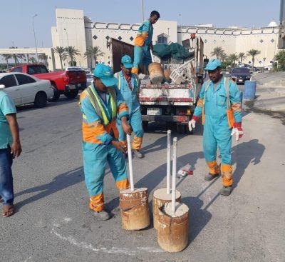 بلدية الخبر تطلق حملة لإزالة التعديات على شوارع المحافظة