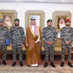 الأمير عبدالله بن مساعد في ضيافة صدى الملاعب