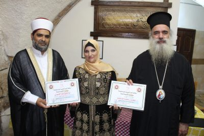 """""""أبو سنينة"""" سفيرةً للإنسانية في دولة فلسطين"""