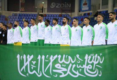 أخضر الصالات يفوز على قطر