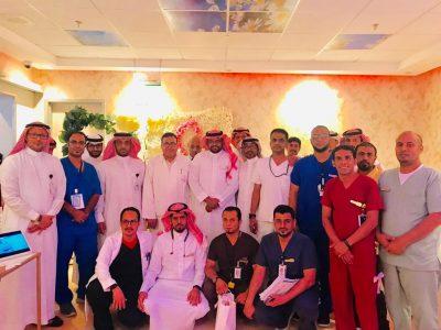 مستشفى صامطة العام يدشن فعالية البرنامج التوعوي لسرطان الثدي