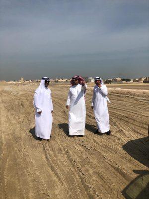 رئيس بلدية الخفجي يواصل جولاته التفقدية للمشاريع التنموية بالمحافظة