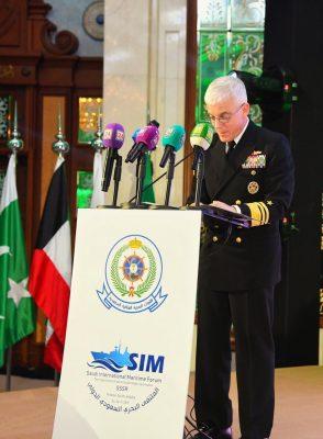 قائد القوات البحرية يختتم أعمال الملتقى البحري السعودي الدولي 2019