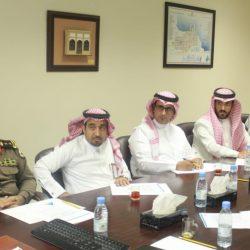 """""""الربيعة"""" و"""" فتح"""" يبحثان خطط التدخلات الإنسانية لمركز الملك سلمان باليمن"""