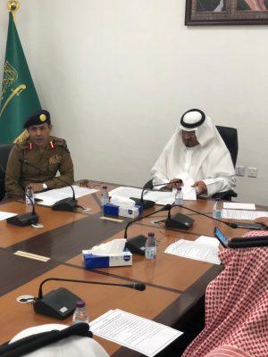 لجنة فورية للدفاع المدني بمحافظة أحد رفيدة