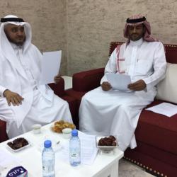 مدير مدني مكة يقلد المقدم الثبيتي رتبته الجديدة