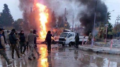 قتيلان وجرحى بانفجار سياريتن مفخختين في رأس العين شمال سوريا