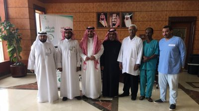 الحميداني يستقبل وفد مستشفى الخفجي العام ضمن حملة التطعيم ضد الإنفلونزا
