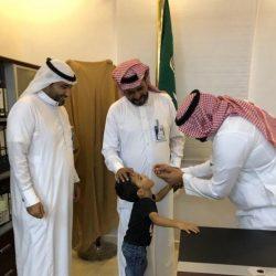 محافظ الطوال يدشن حملة شلل الأطفال