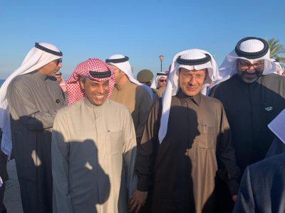 وزيرا الطاقة السعودي والكويتي يطلقان إعادة عمليات الخفجي
