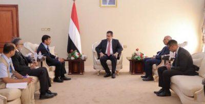 رئيس الوزراء اليمني: الحرب التي أشعلتها مليشيا الحوثي الإرهابية هددت بانهيار النظام الصحي