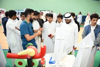 """توعية أكثر من 550 طالب وطالبة و200 مراجع عن """"السكري"""" بمجمع إرادة بالدمام"""