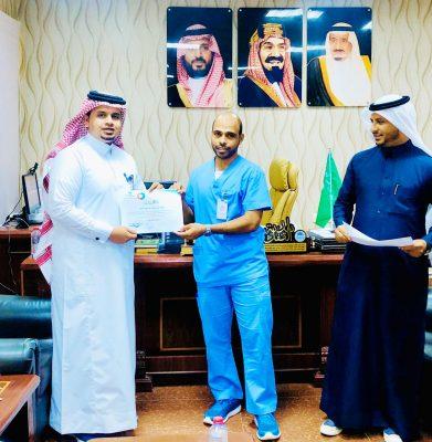 المركز السعودي لاعتماد المنشآت الصحية يمنح مستشفى الحرث العام النطاق الأخضر