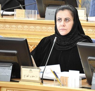 """""""الشورى"""" يوافق على ماطرحته البريفسور سلوى الهزاع بشأن مستشفى الملك خالد التخصصي"""