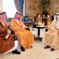 """""""نائب أمير مكة"""" يستقبل اللواء طيار ركن الدبيس المُعين حديثًا بالمنطقة"""