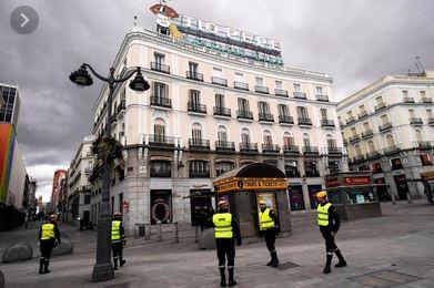 إسبانيا تسجل 769 وفاة بفيروس كورونا المستجد