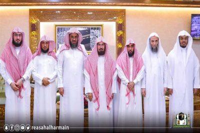 السديس يوافق على مقترح التناوب اليومي لأئمة ومؤذني المسجد الحرام