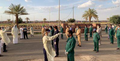 """انطلاق """"حملة الاستقصاء الوبائي"""" بمحافظة الحائط على الأحياء وإسكان العمال"""