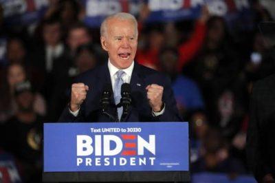 """""""جو بايدن"""" يفوز في الانتخابات التمهيدية للحزب الديمقراطي بولاية ألاسكا"""