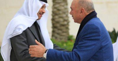 سفير خادم الحرمين لدى الأردن يلتقي رئيس مجلس الأعيان الأردني