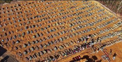 خلال 24 ساعة.. البرازيل تسجل 38 ألف إصابة و1109 وفيات جديدة بكورونا