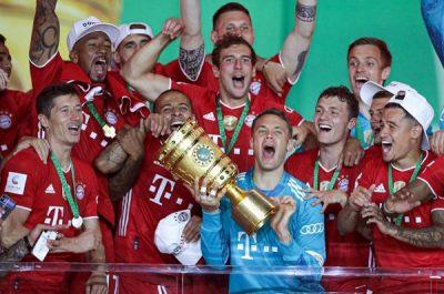 """""""البايرن"""" يتوّج بكأس ألمانيا للمرة الثانية على التوالي"""