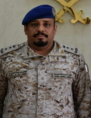 """ترقية """"المقدم"""" فاضل بن عيادة الحوشان إلى رتبة """"عقيد"""" في القوات المسلحة"""