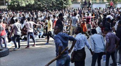 مقتل 50 شخصا باحتجاجات على مقتل مغن شهير في أثيوبيا