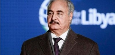 حفتر: تركيا تمارس عدوانها الهمجي على ليبيا وتسعى للسيطرة على ثرواتها