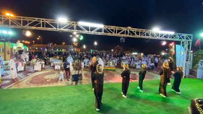 """اختتام فعاليات مبادرة """"فرحة العيد"""" بمحافظة العقيق"""
