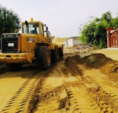 بلدية صامطة تكثف أعمالها لنزح مياه الأمطار