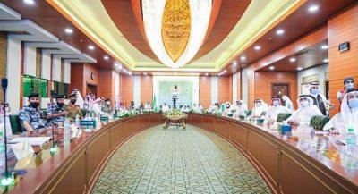 الرئاسة العامة ووزارة الحج وعدد من الجهات الأمنية تناقش المرحلة الاولى لأداء العمرة