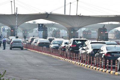 جسر الملك فهد يستقبل أولى الفئات المستثناه المغادرة لمملكة البحرين