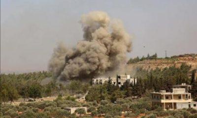 في أعنف غارات منذ 6 أشهر.. روسيا تقصف معقلاً لمقاتلي المعارضة السورية