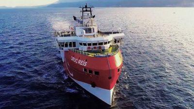 تركيا تناقض نفسها.. تمدد بقاء سفن شرق المتوسط وتدعو للحوار