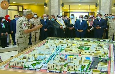 الرئيس المصري يفتتح بحضور سمو أمير منطقة تبوك جامعة الملك سلمان الدولية بشرم الشيخ