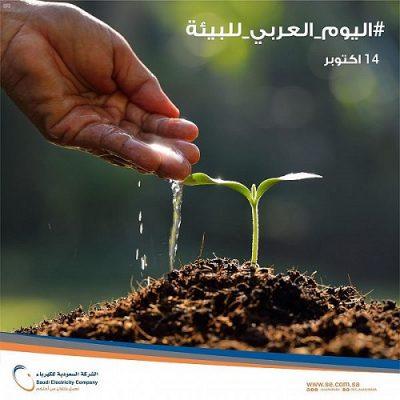 """""""السعودية للكهرباء"""" تؤكد سعيها لتحقيق الريادة في حماية البيئة بالاستخدام الأمثل للموارد والتدوير وتقليل النفايات"""