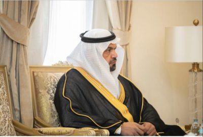 محافظ حفرالباطن يستقبل  الدكتور صالح آل صقر