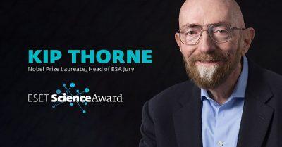 """""""كيب ثورن"""" الحائز على جائزة نوبل يترأس لجنة التحكيم الدولية لجائزة «إسيت» للعلوم 2020"""