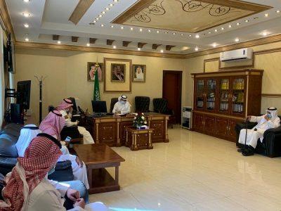 مدير عام فرع وزارة البيئة والمياه والزراعة يلتقي رئيس اللجنة الزراعية بغرفة تبوك