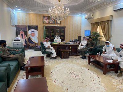 محافظ رنية يلتقي بأعضاء اللجنة الفرعية للسلامة المرورية  