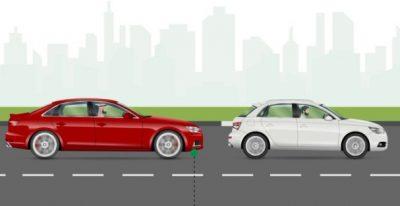 """""""المرور"""" يُحذر مجدداً من عدم ترك مسافة كافية مع المركبات الأخرى.. ويوضح عقوبتها"""