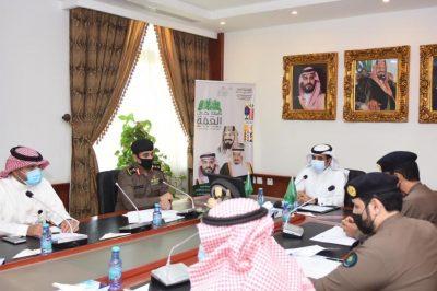 اللجنة الفرعية للدفاع المدني في الرس تعقد اجتماعها السنوي