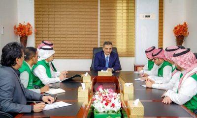لملس يناقش مع وفد من البرنامج السعودي تدخلات البرنامج الحالية والمستقبلية بالعاصمة عدن