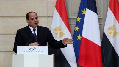 السيسي: يجب معاقبة الدول التي تمول وتسلح المنظمات الإرهابية