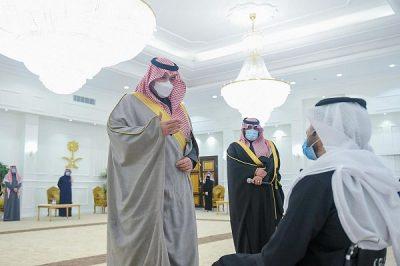 سمو الأمير فيصل بن خالد بن سلطان يستقبل عدداً من الأشخاص ذوي الإعاقة بمناسبة اليوم الدولي للإعاقة