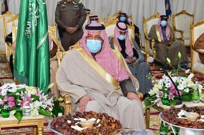 """أمير حائل يتفقد محافظة الحائط..ويؤكد:""""الحائط"""" عاصمة للسياحة ومحل اهتمامي"""